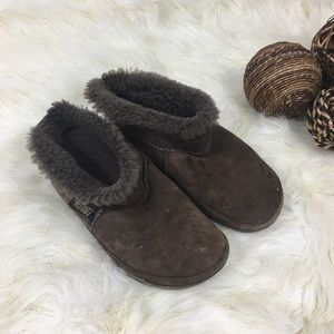 Women's Brown Suede Fitflop